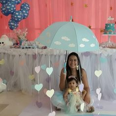 Baby Shower Nena Princesa 25 Ideas For 2019 Baby Shower Themes, Baby Boy Shower, Cloud Party, Baby Shawer, Ideas Para Fiestas, Baby Sprinkle, Unicorn Party, Baby Birthday, Holidays And Events