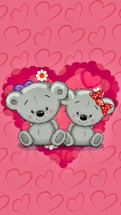 68 Ideas for funny wallpapers phone valentines day Girly Wallpaper, Pretty Phone Wallpaper, Bear Wallpaper, Animal Wallpaper, Wallpaper Backgrounds, Iphone Wallpaper, Funny Valentine, Valentines, Illustrator