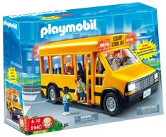 Children can use the bus to transport Playmobil figures from school to home. Play Mobile, Playmobil City, Name Activities, Preschool Toys, Preschool Kindergarten, Toddler Preschool, Preschool Names, Interactive Toys, Tot School
