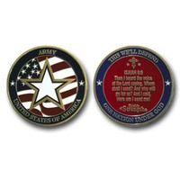 Army Military Coin-Isaiah 6:8