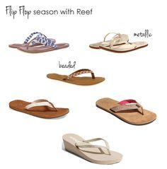 Reef flip flops - www.lovelucygirl.com