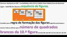 Curso Raciocínio Lógico Padrão da Sequência figuras e números Teste Psic... https://youtu.be/wt22ooXIxC4