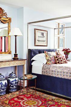 Bedroom designed by Nick Olsen (=)