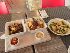 Korean Beef Stew and Salt and Pepper Squid at Chili Peppers