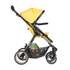 phil&teds mod stroller in zest 4-in-1 modular seat in forward facing mode