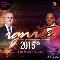 Is your goal for 2015 to be recognized on stage at our International Convention on Los Angeles #OGIgnite