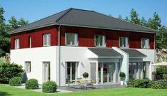 Doppelhaus- Individuelle Fertighäuser - Energiesparhäuser - Passivhäuser