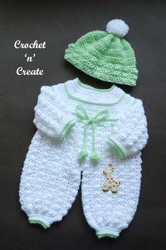 Crochet Baby Cardigan Free Pattern, Crochet Baby Pants, Baby Romper Pattern, Crochet Baby Sweaters, Baby Boy Knitting Patterns, Newborn Crochet Patterns, Baby Sweater Patterns, Crochet Romper, Crochet For Boys
