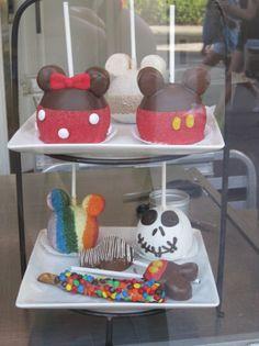Marshmallow & Chocolate Apples at Disneyland