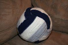 Elecia's Creative I: Crocheted Volleyball pattern