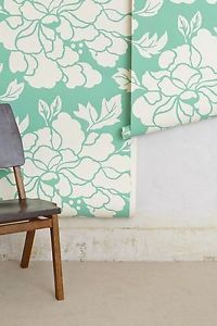 NWT Anthropologie Paeonia Wallpaper Roll Sage by Porridge's