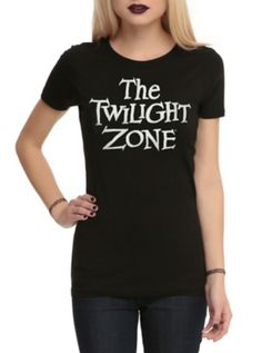 The Twilight Zone Logo Girls T-Shirt