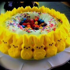 My Easter cake. :) Peeps!