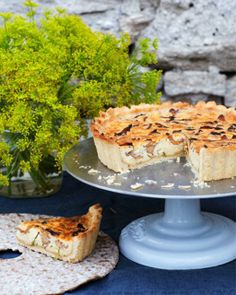 Swedish Cheese & Mushroom Pie - Västerbotten Pai - Sweet Paul
