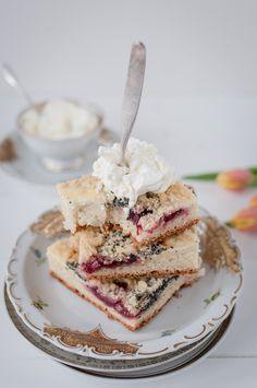 kleckerkuchen trickytine Sweet Cakes, Food Presentation, Happy Easter, Allrecipes, Baking Recipes, French Toast, Muffins, Bakery, Pie