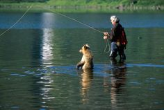 Fishing buddies. Glad Mike doesn't have a buddy like that!