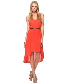 Summer Dresses for Under 30 Dollars: Sleeveless High-Low Dress