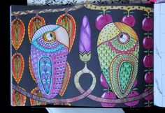#adultcoloringbook #colormeditation #paradiorsolya #pandalaszigetek