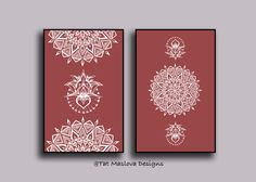 A personal favorite from my Etsy shop https://www.etsy.com/listing/491815816/white-mandala-wall-art-set-of-2-prints