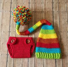 This adorable long tail hat and diaper cover set is crocheted using 100% soft, acrylic yarn.Perfect for newborn photos!