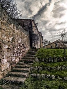escaleras perdidas - Pueblos de Castilla Salas de los Infantes