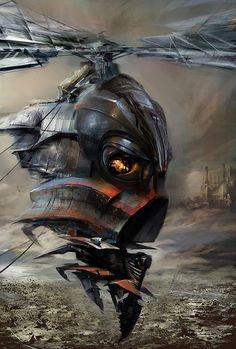 Fantastic Concept Art by Daniel Dociu http://www.cruzine.com/2013/03/08/fantastic-concept-art-daniel-dociu/