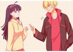 Image about anime in Naruhina ❤ by ❀ † Sωєє† ѕмιℓє † ❀ Naruhina, Naruto Uzumaki, Anime Naruto, Sasuke Sakura, Himawari Boruto, Sasuke E Itachi, Naruto Gaiden, Naruto Fan Art, Naruto Cute