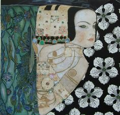 Painting by Gustav Klimt Gustav Klimt, Klimt Art, Illustrations, Illustration Art, Franz Josef I, Inspiration Artistique, Atelier D Art, Popular Art, Art Graphique