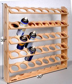 40 Can Spray Paint or Lube Can Wall Mount Storage Holder Rack 40 Can Spray Paint or Lube Can Wall Mount Storage Holder Rack Ronny Schmidt Werkstatt Now available in a […] painting on wood Garage Workshop Organization, Garage Tool Storage, Workshop Storage, Garage Tools, Diy Storage, Workshop Ideas, Garage Shop, Garage Ideas, Woodshop Tools