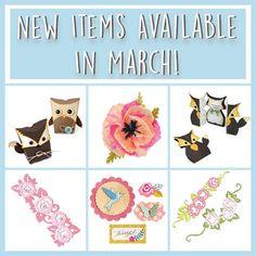 Com a chegada de um novo mês, a Sizzix, lançounovos produtos!!!! Tãooo lindosssssssssssssssssssssssssssss Já nos fazem sentir a primavera!!! Clica na imagem para os conheceres :)   Des…