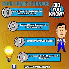 DID YOU KNOW  Your Homes Furnace Home Maintenance Tips