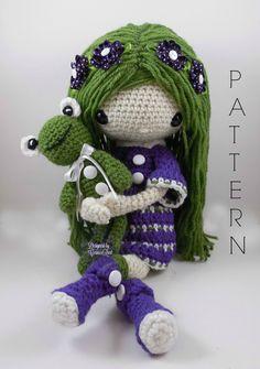 November Amigurumi Doll Crochet Pattern van CarmenRent op Etsy