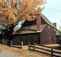 The oldest surviving wood frame house in New Hampshire and Maine was built in 1664 by Richard Jackson, a woodworker, farmer, and mariner, on his family's 25 acre plot.