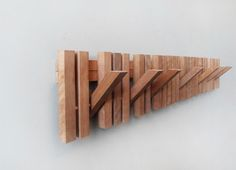 MARIMBA wooden wall hanger on Behance