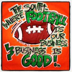 Thaaaat's right! SEC FOOTBALL, BABY! :)