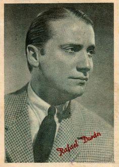 Rafael Duran actor español n.en Madrid en 1911+1994 en Sevilla