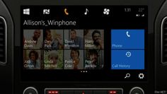 Windows-In-Car-System-1. Intelligente und innovative Software im Auto..