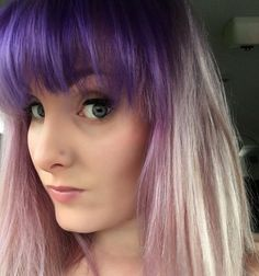 #purplehairdontcare #purplerain #purplehair #makeup #overtone @rinadeedoeshair