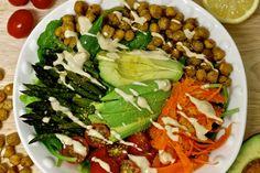 Nourishing Power Bowl With Lemon Tahini Dressing [Vegan, Gluten-Free] | One Green Planet