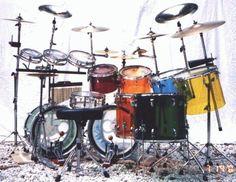 Ludwig Jellybean Quadra-Plus Plus Vistalite Kit,Retired.