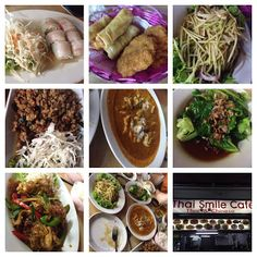 Living in Sin: Thai Smile - Boat Quay food collage