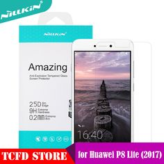 Huawei P8 Lite 2017 Tempered Glass Nillkin Anti-Explosion Screen Protector For Honor 8 Lite / Nova Lite Glass Protective Film