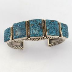 Spiderweb Kingman Turquoise Cuff – Garland's Indian Jewelry