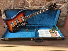 Guild Thunderbird S-200 1964 Sunburst | Dayton Vintage Guitars & Amps | Reverb Vintage Electric Guitars, Vintage Guitars, Dan Auerbach, The Black Keys, Guitar Amp, West Virginia, Guitars
