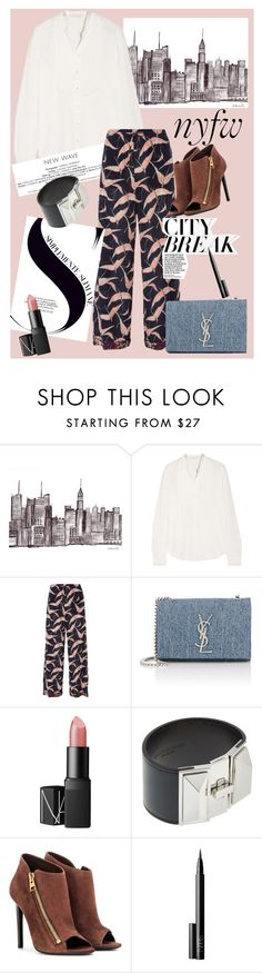 """""""NYFW ready"""" by cheetakat12 on Polyvore featuring Vanessa Bruno, Valentino, Yves Saint Laurent, NARS Cosmetics, Tom Ford, women's clothing, women, female, woman and misses"""