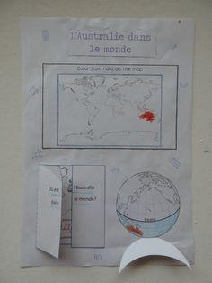 Australie : lapbook (1)