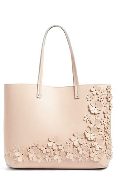 Chelsea28 Chelsea28 Floral Faux Leather Tote available at #Nordstrom