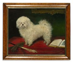 Brooke Astor's Dog Art