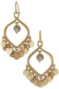 Elegant Rose Gold Chandelier Earrings