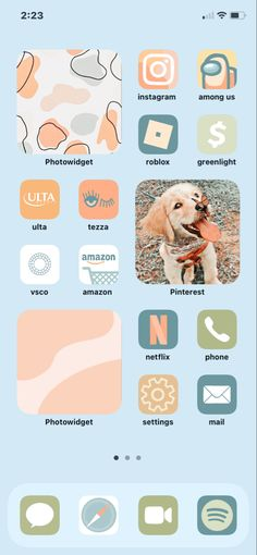 Cover App, App Covers, Cute Home Screens, Whats On My Iphone, Iphone Home Screen Layout, Collage Pictures, Iphone App Design, Ios App Icon, Background Ideas